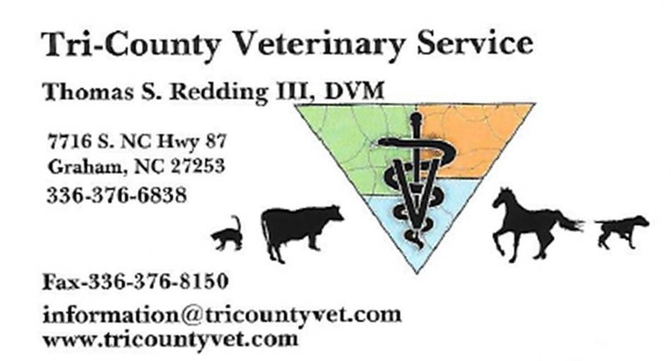 Tri-Country Veterinary Science logo